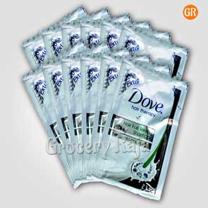 Dove Hair Fall Rescue Shampoo Rs 1.50 Sachet (Pack of 12)