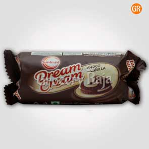 Sunfeast Dream Cream - Chocolate & Vanilla Rs. 10