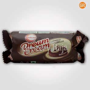 Sunfeast Dream Cream - Chocolate & Vanilla Rs. 10