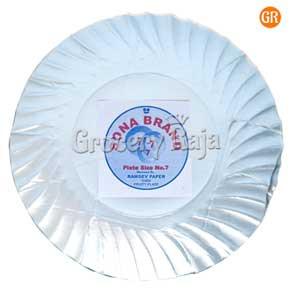 Paper Plate No 7 (50 Pcs)