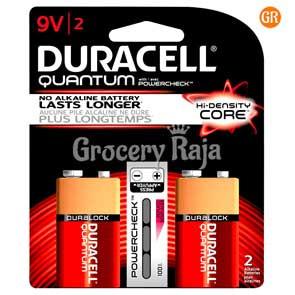 Duracell 9V Battery 2 nos