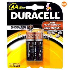 Duracell AA 1.5V Battery 2 nos