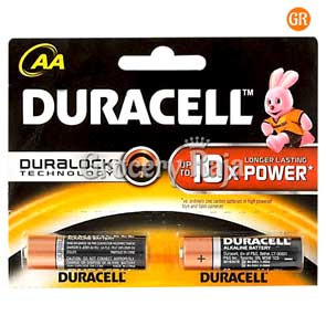 Duracell AA 10x Battery 2 nos