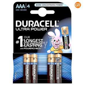Duracell AAA Battery 4 nos