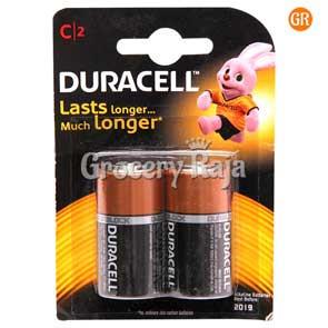 Duracell C Battery 2 nos