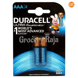 Duracell Ultra AAA Battery 2 nos