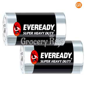 Eveready Red Heavy Duty D2 1050 Battery 2 nos