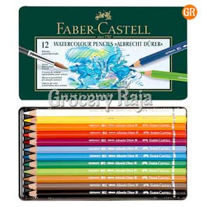 Faber Castell Water Colour Pencils - 12 Shades