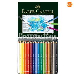 Faber Castell Water Colour Pencils - 24 Shades