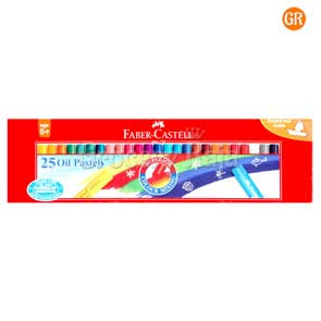 Faber-Castell Oil Pastel Crayons - 25 Shades