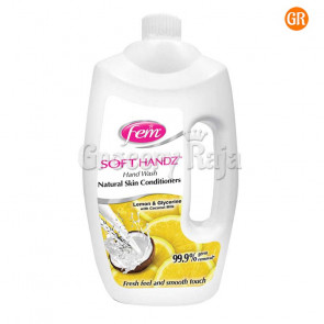 Fem Soft Handz Lemon & Glycerine Hand Wash 900 ml