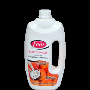Fem Soft Handz Olive Oil & Peach Hand Wash 900 ml