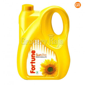 Fortune Sun Lite Sunflower Refined Oil 5 Ltr Can