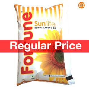 Fortune Sunlite Refined Sunflower Oil 1 Ltr