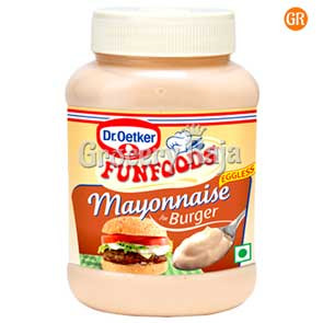 Fun Foods Mayonnaise Burger Eggless 275 gms