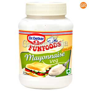 Fun Foods Mayonnaise Veg Eggless 275 gms