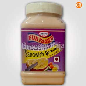 Fun Foods Sandwich Spread - Cucumber & Carrot
