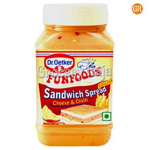 Fun Foods Sandwich Spread - Cheese & Chilli