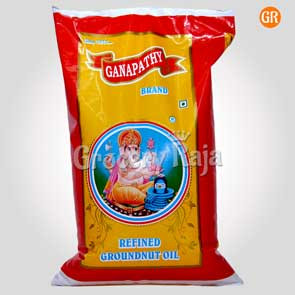 Ganapathy Groundnut Oil 1 Ltr