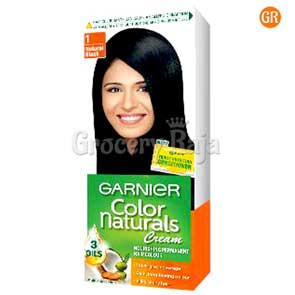 Garnier Colour Naturals Creme - Natural Black 70 ml