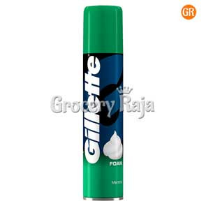 Gillette Menthol Shaving Foam 196 gms