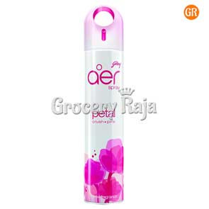 Godrej Aer Petal Crush Pink Air Freshener Spray  300 ml