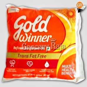 Gold Winner Sunflower Oil 500 ml Pouch