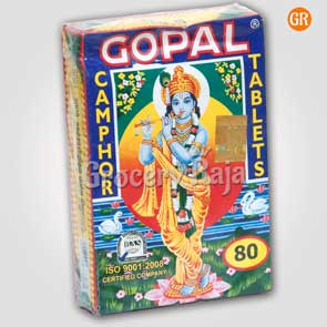 Gopal Camphor 80 pc 1 Pack