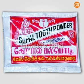 Gopal Toothpowder 15 gms Sachet (Pack of 6)