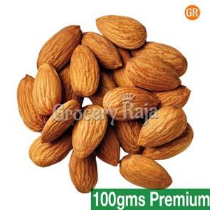 GR Almond - Badam (பாதாம்) 1st Grade 100 gms