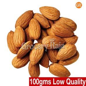 GR Almond - Badam (பாதாம்) 2nd Grade 100 gms