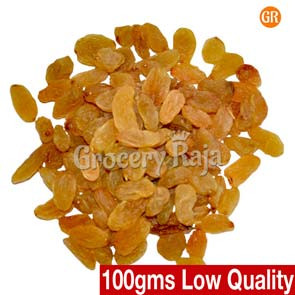 GR Dry Grapes-Raisins (Orange) 2nd Grade (திராட்சை) 100 gms
