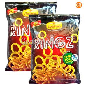Haldirams Ringz Chips Rs. 5 (Pack of 2)