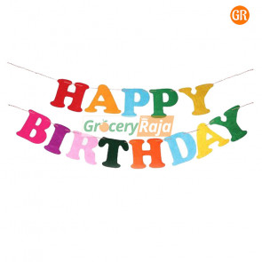 Happy Birthday Banner Decorative Hangings