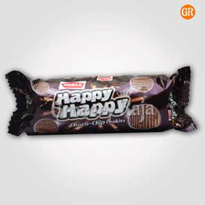 Parle Happy Happy Choco Chip Cookies Rs. 10