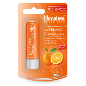 Himalaya Sun Protect Orange Lip Care Lip Balm 4.5 gms