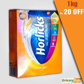 Horlicks Classic Malt 1 Kg Refill Pack