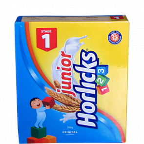 Horlicks Junior Original 123 Stage 1 Refill Pack 200 gms