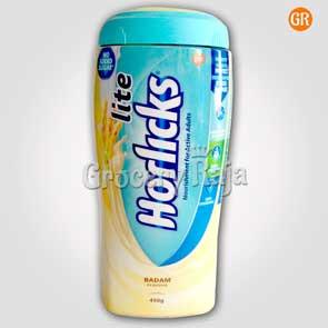 Horlicks Lite Badam Flavor 450 gms Jar