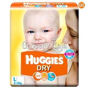 Huggies Dry Large 8-14 kg 2 Diapers