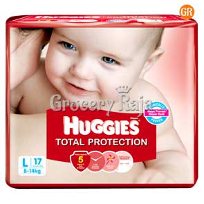 Huggies Total Protection Large 17 Diapers