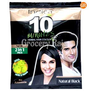 Indica Naturals Hair Dye - Black