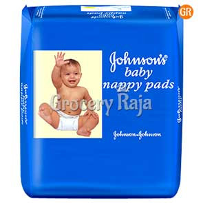 J & J Baby Nappy Pads 20 Diapers