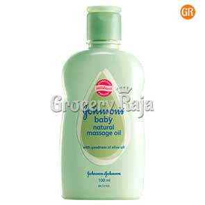 J & J Baby Natural Massage Oil 100 ml