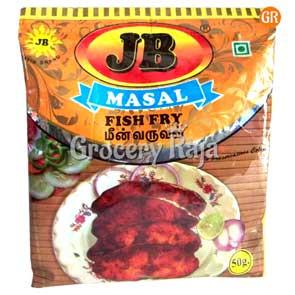 JB Fish Fry Masala 50 gms