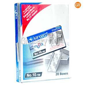 Kangaro Stapler Pins No.10-1m (20 Boxes)