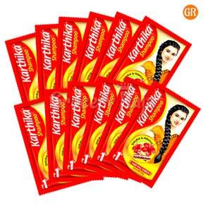 Karthika Shampoo Rs.1 Sachet (Pack of 12)