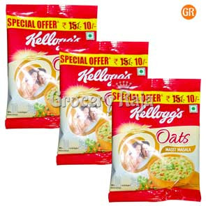Kelloggs Oats Masst Masala Rs. 10 (Pack of 3)
