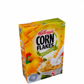 Kelloggs Real Mango Puree Corn Flakes 300 gms