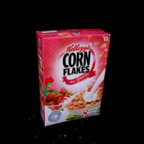 Kelloggs Real Strawberry Puree Corn Flakes 275 gms